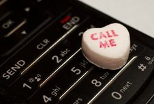 Free Call Me Candy Stock Photography - 4125582