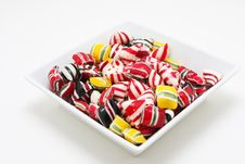 Bowl Of Candy Royalty Free Stock Photography