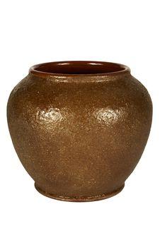 Beautiful Ancient Vase Stock Photography