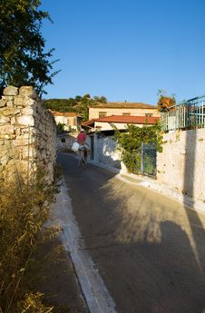Free Life In A Greek Village Stock Photos - 4126213