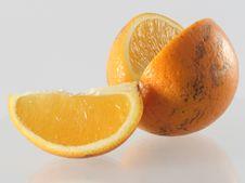 Free Orange Slice Royalty Free Stock Photography - 4126527