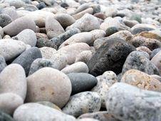 Beach Gravel Royalty Free Stock Photography