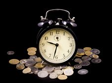 Free Time Is Money Stock Photography - 4126792