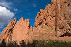 Free Garden Of The Gods Stock Images - 4127234