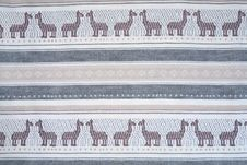 Free Horse Mosaic Textile Texture Stock Image - 4127261