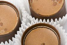 Free Three Chocolate Sweet Stock Images - 4127294