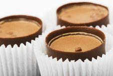 Free Three Chocolate Sweet Royalty Free Stock Image - 4127296