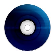Compact Disk Royalty Free Stock Photo
