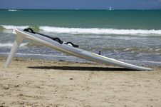 Free Windsurf Board Stock Photography - 4128012