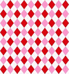 Free Valentine Argyle Royalty Free Stock Image - 4128086