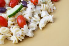 Free Pasta Salad Royalty Free Stock Photography - 4128967