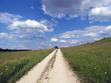 Free Road To Heaven Stock Photos - 41213923