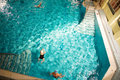 Free Morning Swim In The Public Baths Royalty Free Stock Image - 4135946