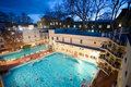 Free Morning Swim In The Public Baths Royalty Free Stock Photography - 4136027
