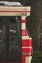 Free Dutch Tram Side View Royalty Free Stock Photo - 4137515