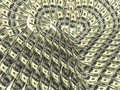 Free Valentine S Heart Made By Dollars Stock Photography - 4138922