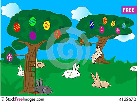Free Bunnys Stock Photo - 4132670