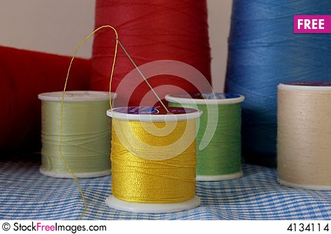 Free Spool Of Thread Stock Images - 4134114