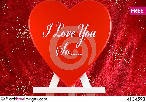 Free Valentine Message Stock Photos - 4134593