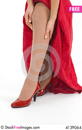 Free Red Shoes Stock Images - 4139064