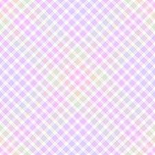 Free Pastel Colored Plaid Background Royalty Free Stock Images - 4130069