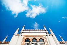 Free Sultan Mosque Stock Photo - 4130260