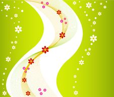 Free Floral Vector Design Background Stock Photo - 4130360