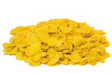Free Corn Flakes In Macro Royalty Free Stock Images - 4130839