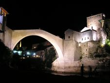 Free Summer Time In Mostar Stock Photos - 4132383