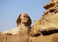 Free Sphinx In Egypt Stock Image - 4132831