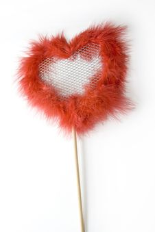Free Valentine Red Heart Royalty Free Stock Photography - 4132927