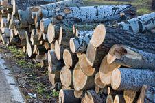 Free Lumber Royalty Free Stock Image - 4133026