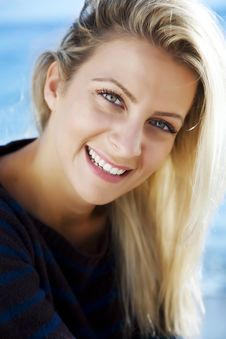 Free Smiling Female Outdoors Stock Photo - 4133340