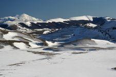 Free Castelluccio /winter Landscape Stock Photography - 4133432