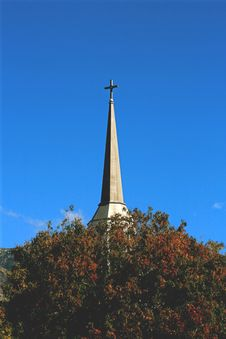 Free Serene Steeple Stock Photography - 4133632