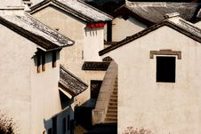 Free Chinese Traditional House Of East China Royalty Free Stock Photo - 4133935