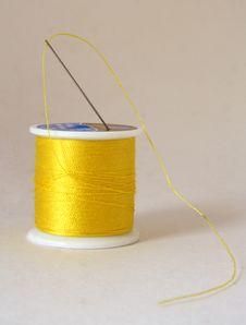 Free Spool Of Thread Stock Image - 4134101