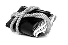 Free Wallet Full Of Cash Stock Photo - 4134520