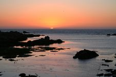 Free Jacobs Bay Sunset 7 Stock Images - 4134784