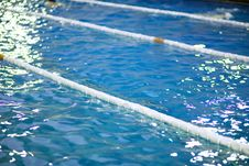 Free Water In The Swimming Pool Stock Images - 4135794
