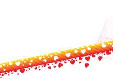 Free Rainbow Hearts - Valentines Stock Photos - 4135803