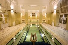 Free Swimming Pool In The Public Baths Stock Photography - 4136182