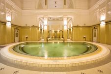 Free Swimming Pool In The Public Baths Stock Images - 4136314