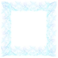 Free Light Fractal Frame Royalty Free Stock Image - 4136396