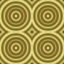 Free Golden Retro Background Texture Seamless Tilable Stock Photos - 4136593