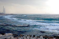 Free Waves And Sea Coast Stock Image - 4136751
