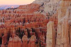 Free Dawn On Bryce Canyon Stock Photos - 4137203