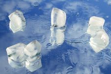 Free Ice In Blue Sky Royalty Free Stock Images - 4137599