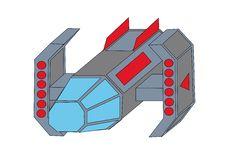A Guided Spaceship