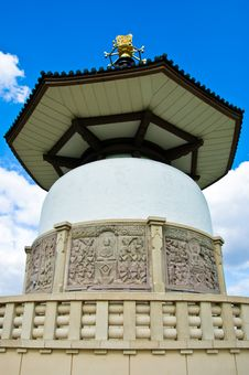 Buddhist Peace Pagoda Stock Photos